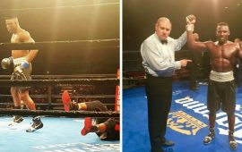 Boxing: Ajagba knocks out opponent as Apochi sees off opponent in Pro debuts