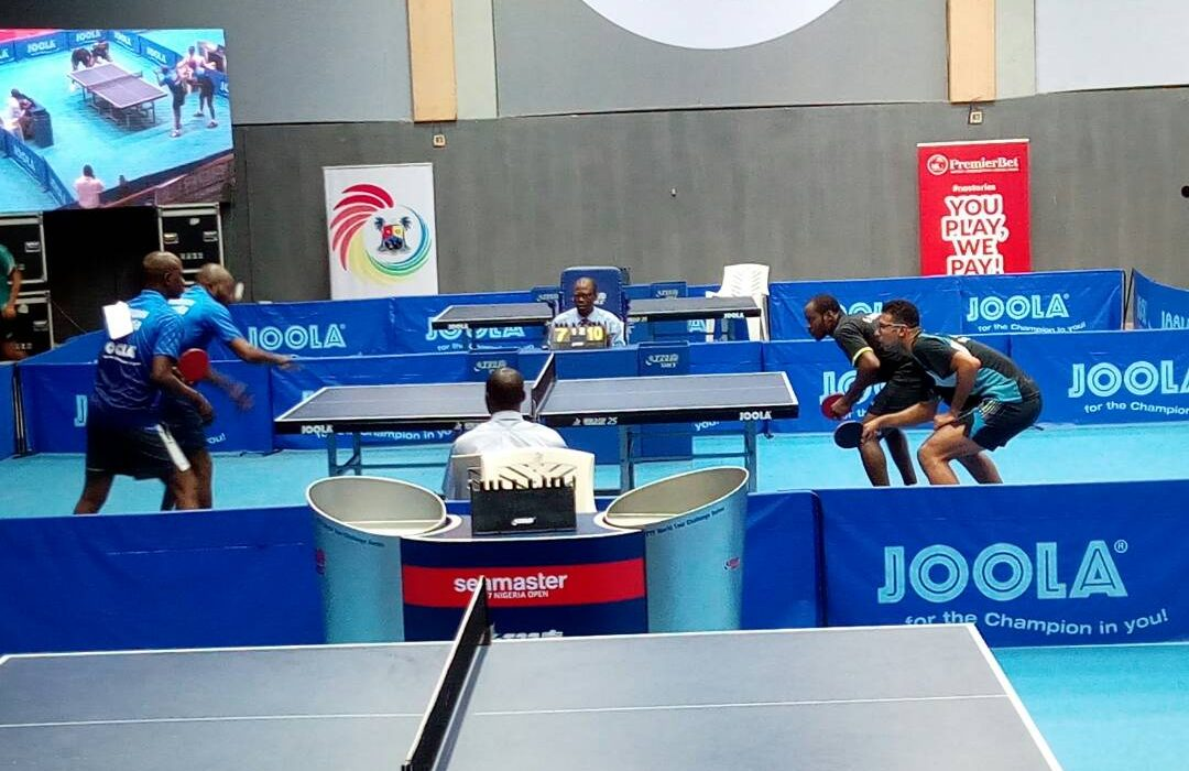 Nigeria Open Day 3: Aruna, Omar, others take centre stage at ITTF Challenge