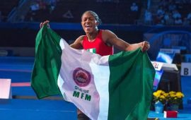 Adekuoroye breaks into number one in female ranking