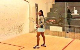 Squash: Yemisi beats Herbst in Zimbabwe, male players shines too