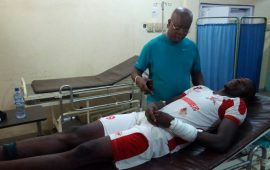 Injury rocks CHAN Eagles camp: Adetunji injured, Odey doubtful