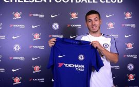Kylian Hazard signs for Chelsea