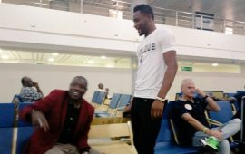 Mikel, 15 others arrive Uyo for Cameroon