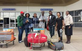Squash Open: Nigerian team arrives Zimbabwe
