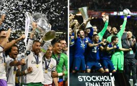 Real Madrid battle Man Utd for European Super Cup in Skopje