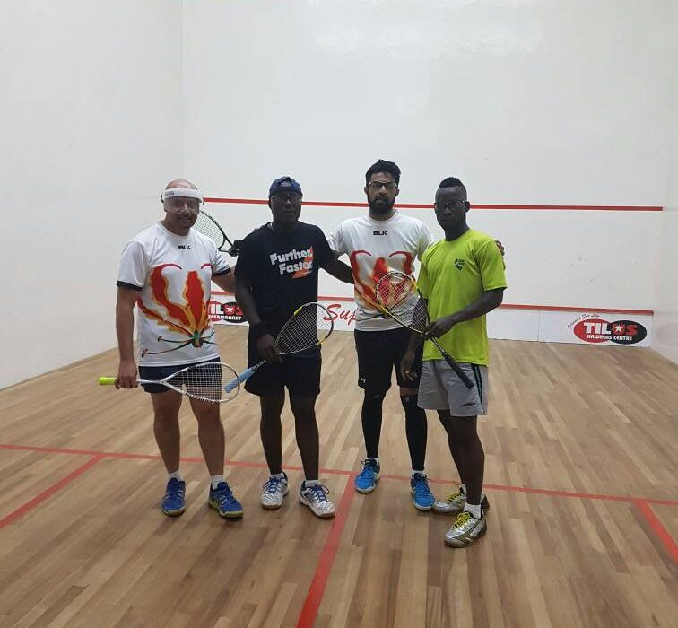 EXCLUSIVE Squash: Three Nigerians zoom into finals at the Zimbabwe Championship