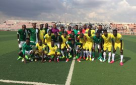 2018 CHAN: Okoro's brilliance rescues Yusuf's Eagles in the hands of a Selected XI