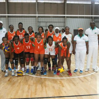 Team Cote D'Ivoire ahead of Nigeria match