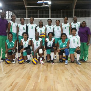 Team Nigeria ahead of Cote D'Ivoire match