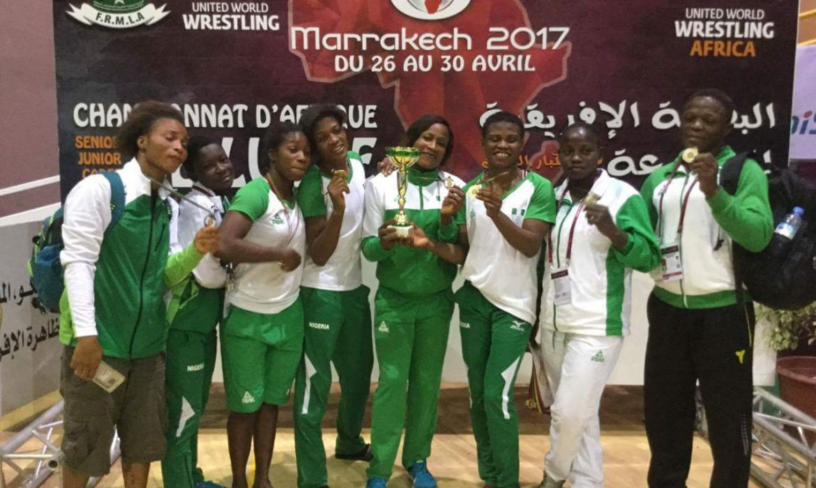 Nigeria Wrestling Federation unveils Six Wrestlers for World Championship in Paris