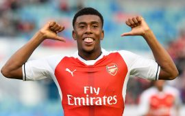 EiE: Iwobi impresses in Arsenal's thumping win, Balogun missing again as Ogu sees red in Israel
