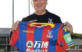 Crystal Palace appoint Roy Hodgson as Frank De Boer replacement