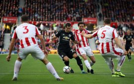 Relentless Stoke hold United to a draw at Bet365