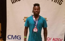 Nigerian weightlifter, Tanimowo,  wins in Las Vegas