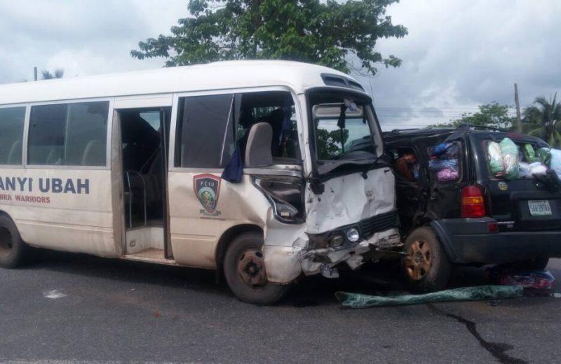 FC Ifeanyi Ubah involved in car crash
