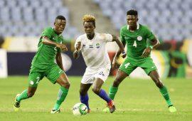 Ezenwa shines as CHAN Eagles leave it late to down Sierra Leone