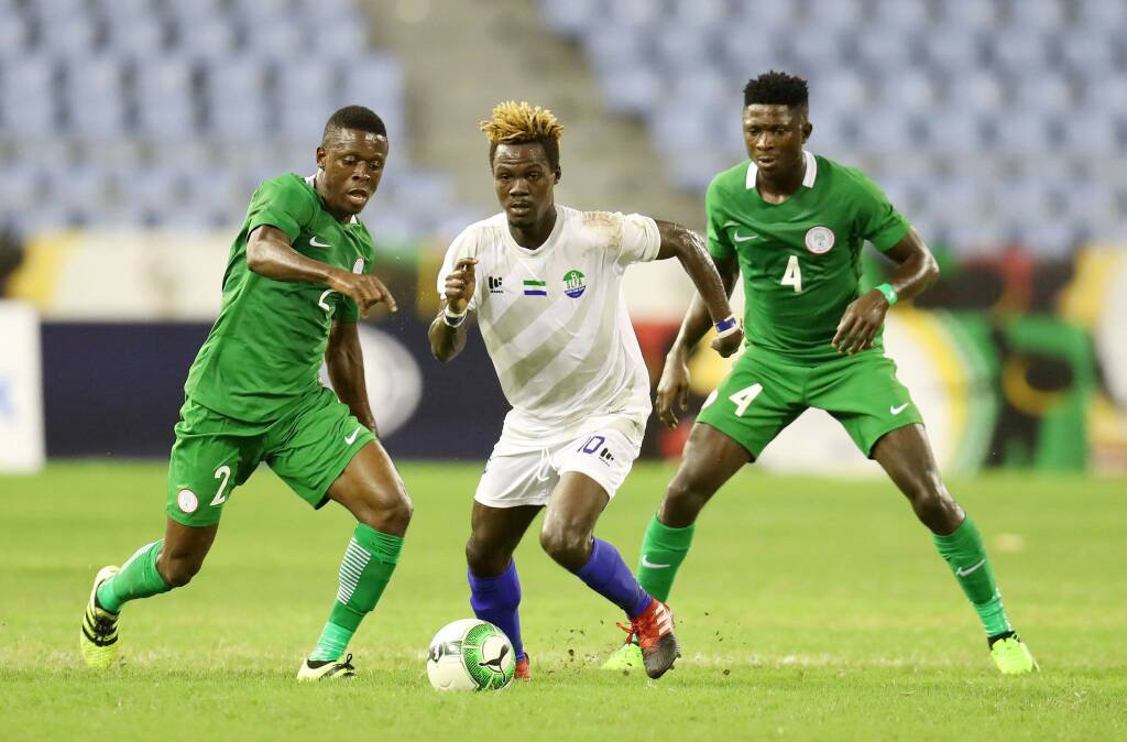 Ezenwa shines as CHAN Eagles leave it late to down Sierra Leone