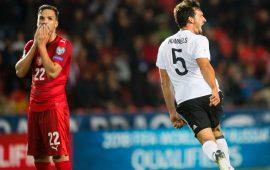 2018 WCQ: England, Germany on the brink, as Denmark thrash Poland