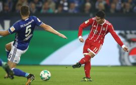 James stars as Bayern Munich win at Schalke