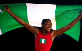 Odunayo Adekuoroye elected into the United World Wrestling Athletes Commission