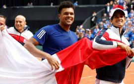 Belgium set up clash with France in Davis Cup final