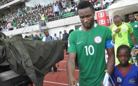Mikel, Uzoho head Eagles list for Algeria and Argentina