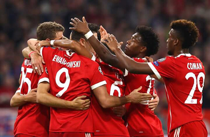 Bundesliga: Bayern ease past Dortmund, extend lead