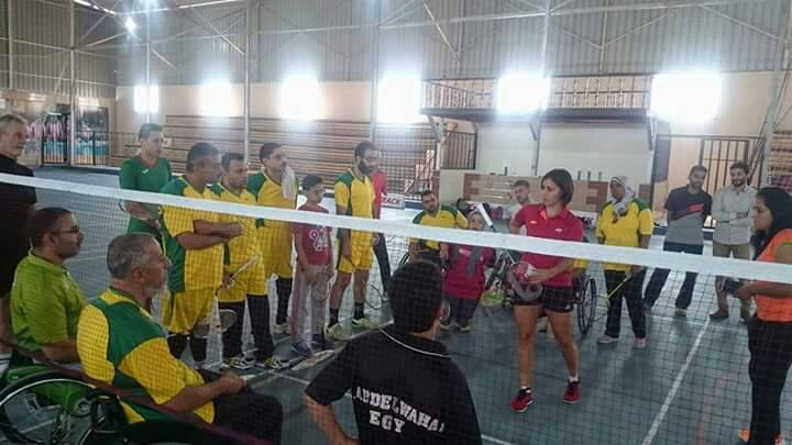 Nigeria Para Badminton players missing at the first African para Badminton training camp in Cairo.