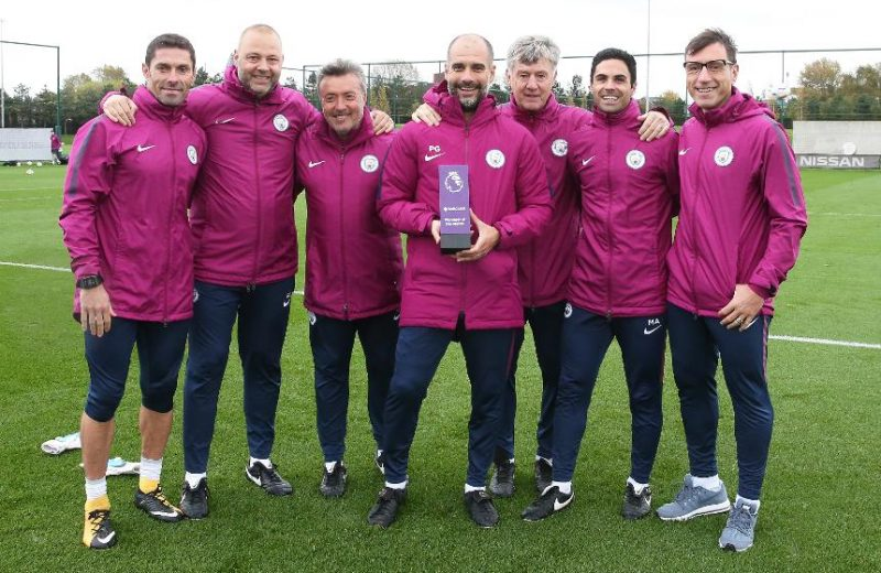 EPL: Guardiola signs contract extension with City