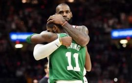 Rockets rally late to beat Champions Golden State Warriors, injury ruin Cavaliers win over Celtics