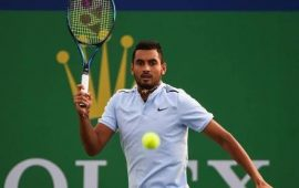 ATP fines Nick Kyrgios £23,500 for unsporting conduct at Shanghai Masters