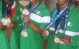 African Junior/Youth Weightlifting: Nigeria win nine gold medals