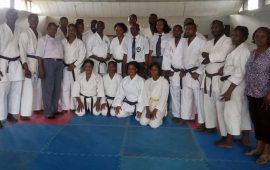 Karate: James Aina organises coaching and refereeing courses