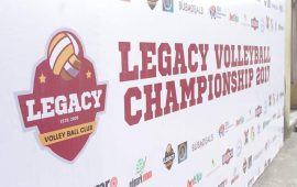 Legacy dominate voll­eyball club champion­ship finals