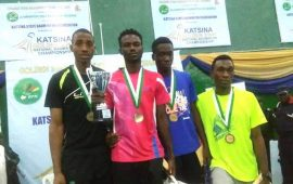 Badminton: Krobapor and Adesokan win Katsina Open singles' titles