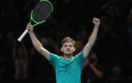 ATP Finals Day 2: Goffin shocks Nadal, Dimitrov defeats Thiem