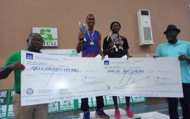 Opeyori, Adesokan dominate 1st Mutual Benefit Badminton championship