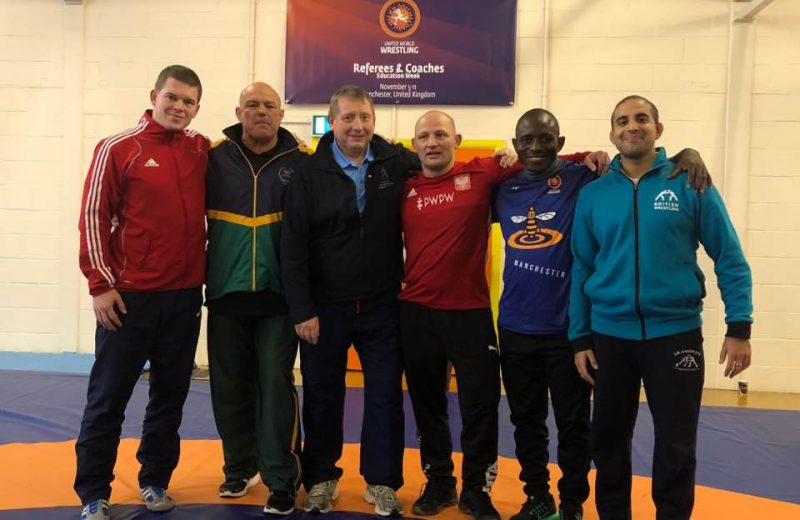 President of Nigeria Wrestling Federation attends UWW Referee and Coaches course