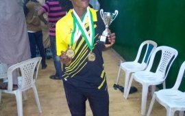 Zaniab Momoh shines at 1st Golden Star Badminton championship