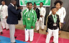Karate: My dream is to be at the Olympics says Aderonke