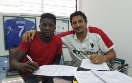 Ghanaian club announce Afeez Aremu capture