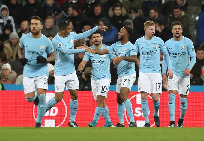 Premier League: 'Happy' Man City beat Newcastle to extend PL lead
