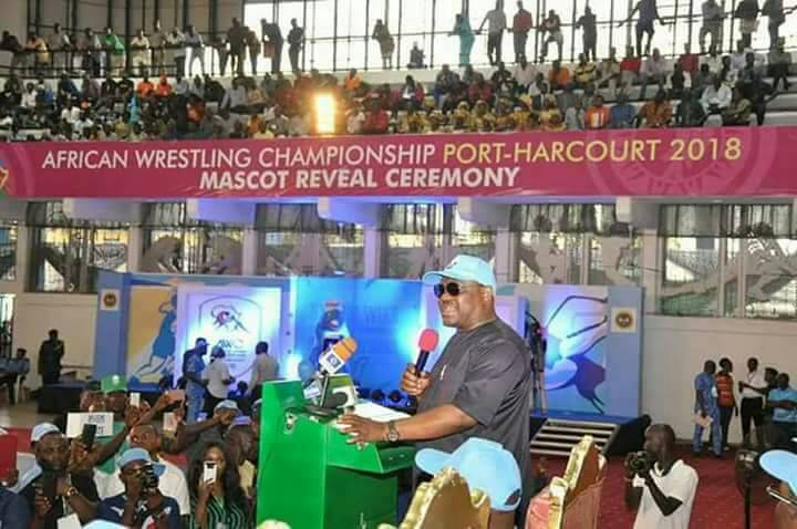 Gov Wike promises to make Wrestling Championships an annual event