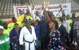 Ambassador's Cup: Team NSCDC champions for the fifth time