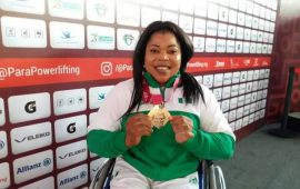 Para Powerlifting: Ejike wins second Nigeria gold in Mexico