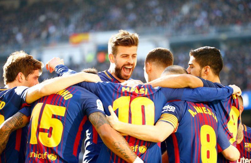 La Liga El Clasico: Barcelona hammer 10-man Real Madrid