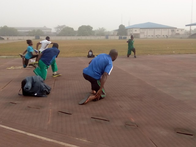 Nigeria 2018 Commonwealth Games camps   ACLSports