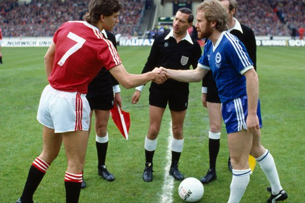1983 FA Cup final video, BBC World Service and Man United