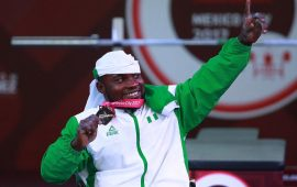 Power-Lifting: Ezuruike wins first world title, Omolayo, silver.