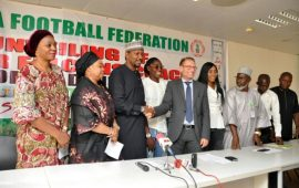 NFF unveils Thomas Dennerby as Super Falcons coach